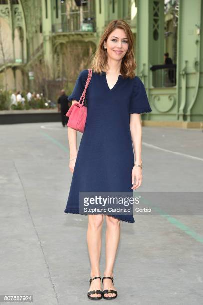Sofia Coppola attends the Chanel Haute Couture Fall/Winter 20172018 show as part of Haute Couture Paris Fashion Week on July 4 2017 in Paris France