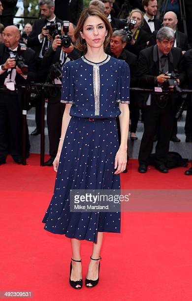 Sofia Coppola attends the 'Foxcatcher' Premiere at the 67th Annual Cannes Film Festival on May 19 2014 in Cannes France