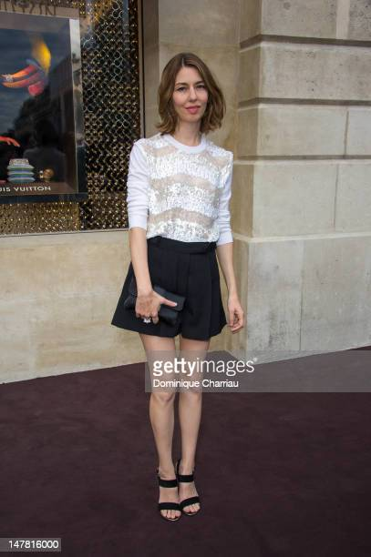 Sofia Coppola attends the Louis Vuitton New Boutique Opening as part of Paris HauteCouture Fashion Week Fall / Winter 2012/13 at Place Vendome on...