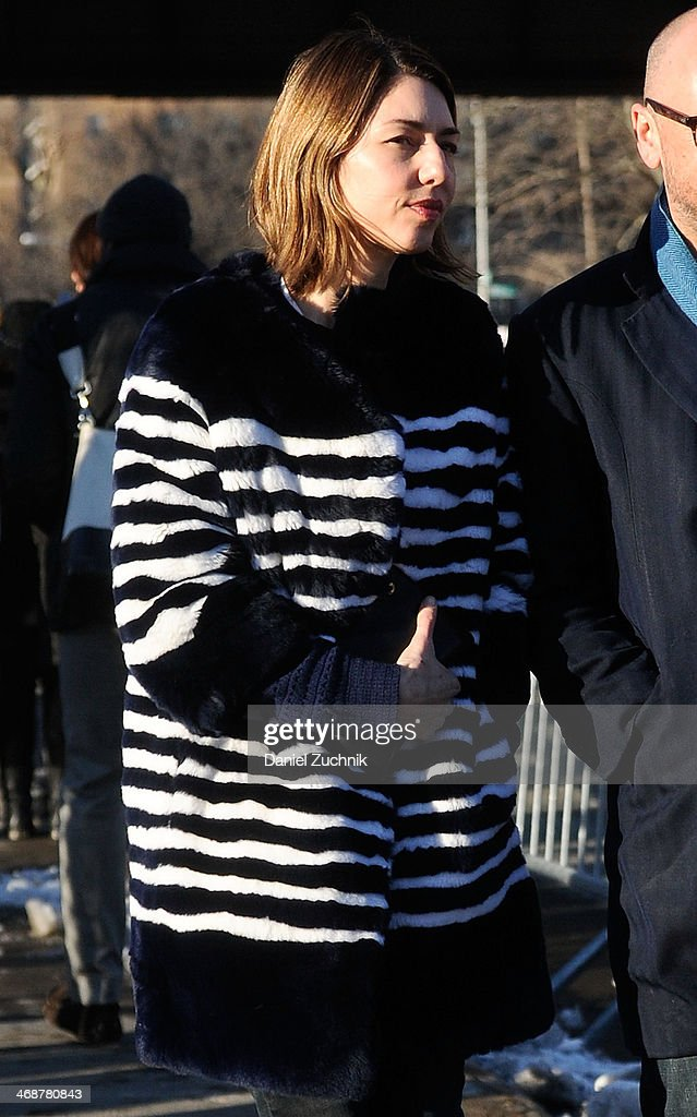 Sofia Coppola attends the Marc by Marc Jacobs show on February 11, 2014 in New York City.