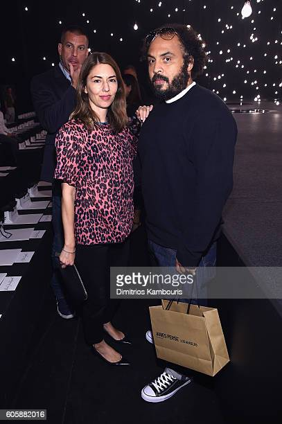 Sofia Coppola attends the Marc Jacobs Spring 2017 fashion show front row during New York Fashion Week at the Hammerstein Ballroom on September 15...