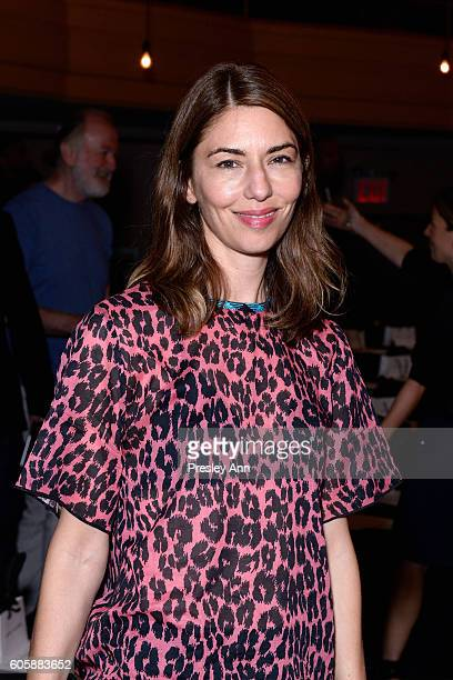 Sofia Coppola attends the Marc Jacobs SS17 fashion show front row during New York Fashion Week at the Hammerstein Ballroom on September 15 2016 in...