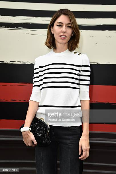 Sofia Coppola attends the Sonia Rykiel show as part of the Paris Fashion Week Womenswear Spring/Summer 2015 on September 29 2014 in Paris France