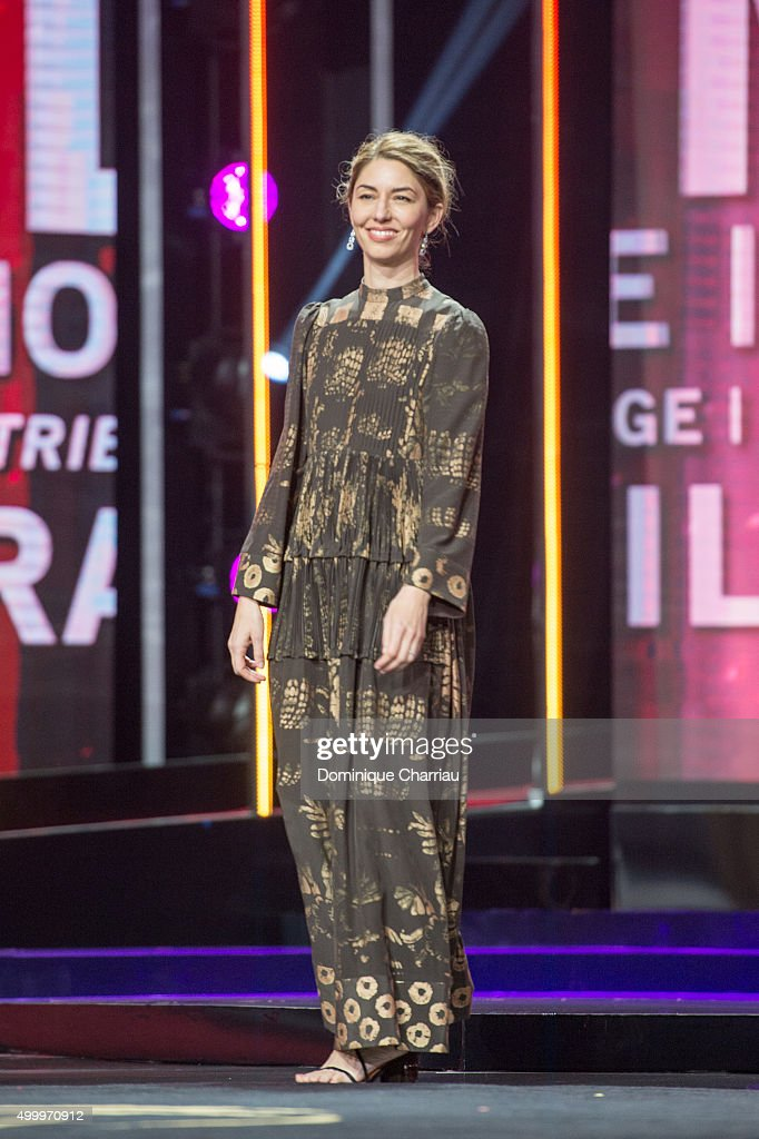 Sofia Coppola attends the Tribute To Bill Murray during the 15th Marrakech International Film Festival on December 4 2015 in Marrakech Morocco