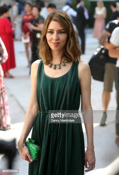 Sofia Coppola attends the Valentino Haute Couture Fall/Winter 20172018 show as part of Paris Fashion Week on July 5 2017 in Paris France