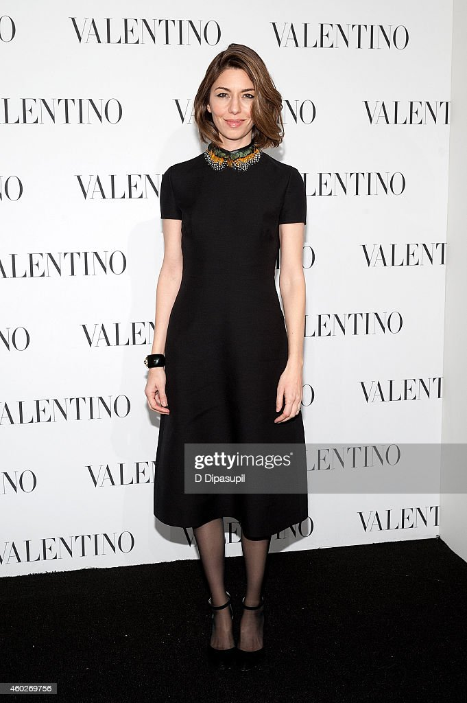 Sofia Coppola attends the Valentino Sala Bianca 945 Event on December 10, 2014 in New York City.