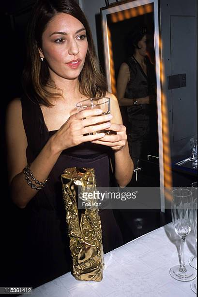 Sofia Coppola during 30th Cesars Awards at Presse Room Theatre du Chatelet in Paris France