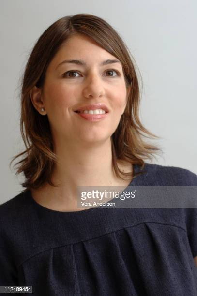 Sofia Coppola during 'Marie Antoinette' Press Conference with Kirsten Dunst Sofia Coppola and Jason Schwartzman at Four Season Beverly Hills in...