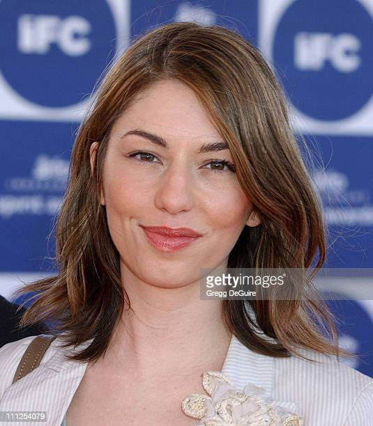 Sofia Coppola during The 19th Annual IFP Independent Spirit Awards Arrivals at Santa Monica Pier in Santa Monica California United States