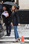 Celebrity Sightings - Paris Fashion Week - Haute...
