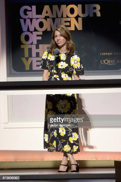 Sofia Coppola speaks onstage at Glamour's 2017 Women of The Year Awards at Kings Theatre on November 13 2017 in Brooklyn New York