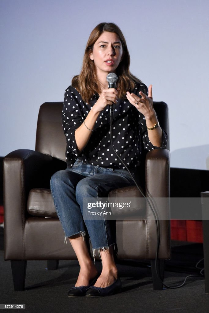 Sofia Coppola speaks onstage during the 'On Directing: Sofia Coppola' at AFI FEST 2017 Presented By Audi at TCL Chinese 6 Theatres on November 11, 2017 in Hollywood, California.