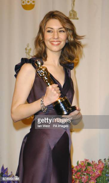 Sofia Coppola winner of Best Origianl Screenplay for 'Lost in Translation' poses for the photographers in the Press Room of the 76th Annual Academy...