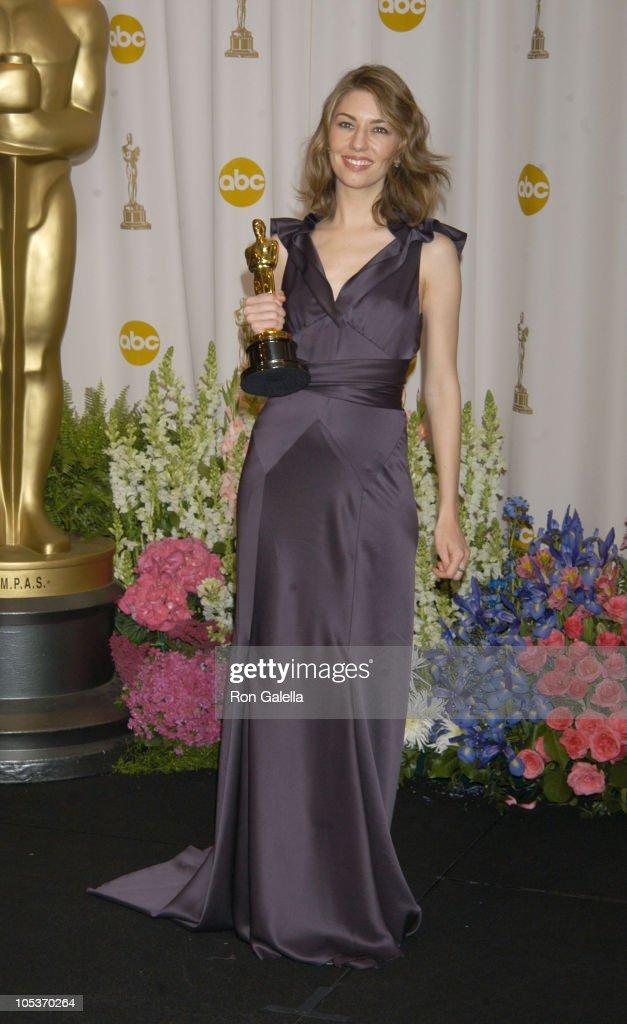Sofia Coppola, winner of Best Original Screenplay for 'Lost in Translation'