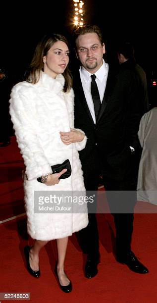 Sofia Coppola with escort arrives at the Cesar Film Awards at the Theatre du Chatelet on February 62005 in Paris France The annual film awards are...