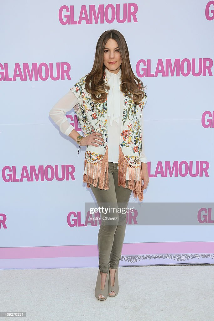 Sofia Escobosa attends the Glamour Magazine Mexico Beauty Awards 2013 at Museo Rufino Tamayo on February 13, 2014 in Mexico City, Mexico.