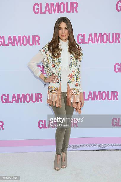 Sofia Escobosa attends the Glamour Magazine Mexico Beauty Awards 2013 at Museo Rufino Tamayo on February 13 2014 in Mexico City Mexico