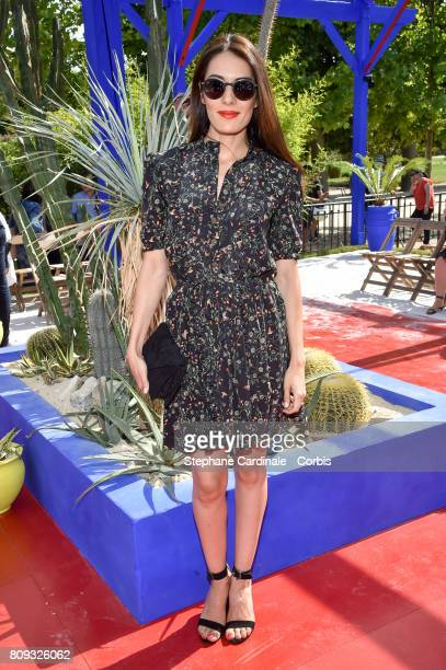 Sofia Essaidi attends the Bonpoint Haute Couture Fall/Winter 20172018 show as part of Haute Couture Paris Fashion Week on July 5 2017 in Paris France