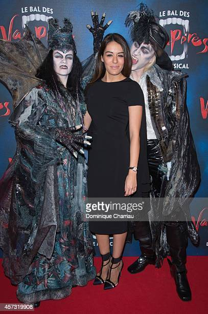 Sofia Essaidi attends the 'Le Bal Des Vampires' Premiere at Theatre Mogador on October 16 2014 in Paris France