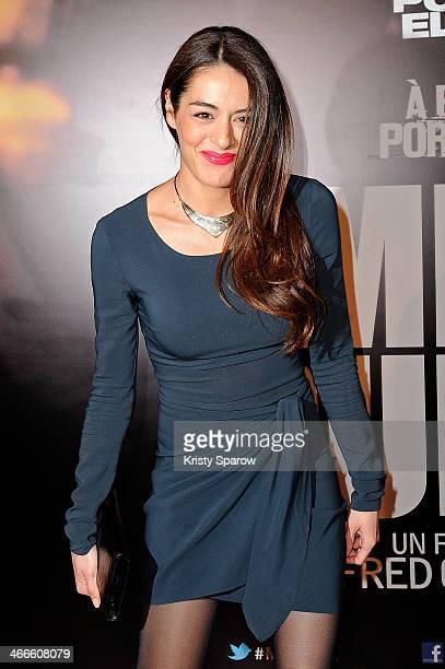 Sofia Essaidi attends the 'Mea Culpa' Paris Premiere at Cinema Gaumont Opera Capucine on February 2 2014 in Paris France