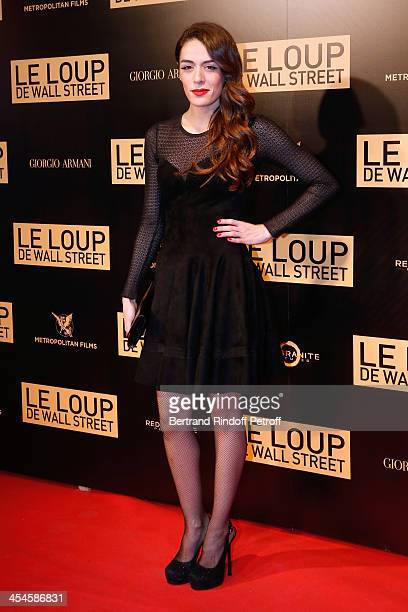 Sofia Essaidi attends the photocall before the 'The Wolf of Wall Street' World movie Premiere at Cinema Gaumont Opera on December 9 2013 in Paris...