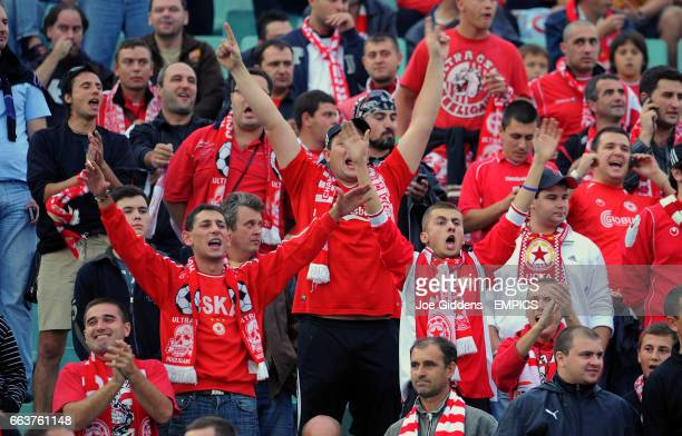 Sofia fans in the stands
