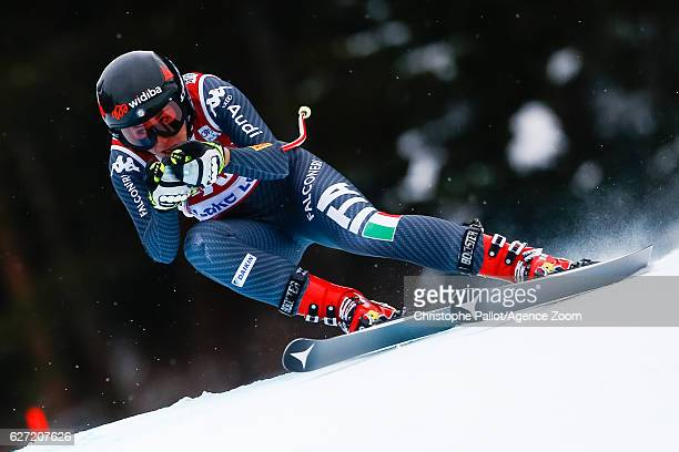 Sofia Goggia of Italy competes during the Audi FIS Alpine Ski World Cup Women's Downhill on December 2 2016 in Lake Louise Canada