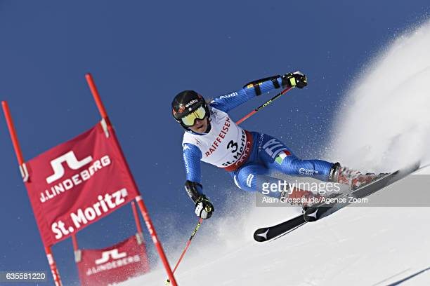Sofia Goggia of Italy competes during the FIS Alpine Ski World Championships Women's Giant Slalom on February 16 2017 in St Moritz Switzerland