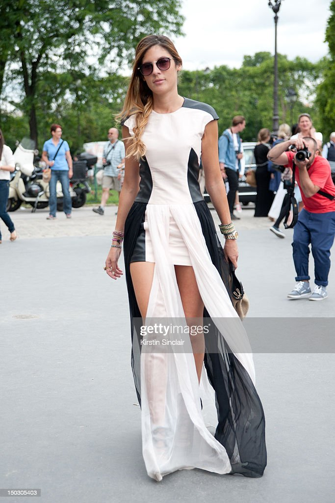 Street Style On July 3 Paris Fashion Week Haute Couture F W 2013 Getty Images