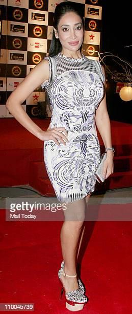 Sofia Hayat at Big Star Indian Music Academy Awards 2011 in Mumbai