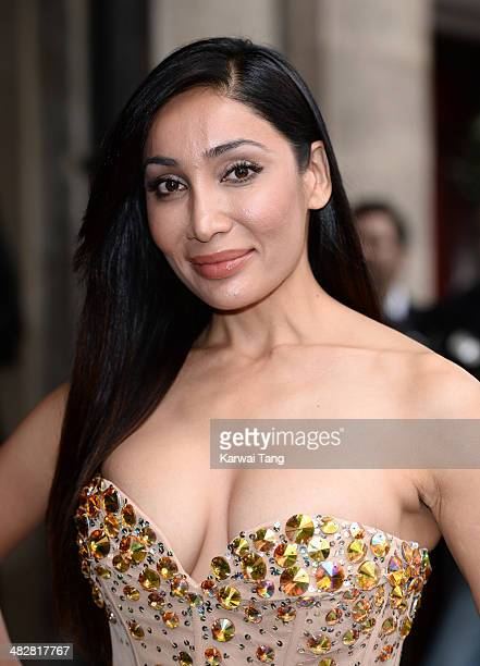 Sofia Hayat attends The Asian Awards held at The Grosvenor House Hotel on April 4 2014 in London England