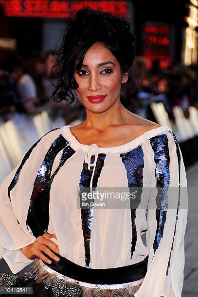 Sofia Hayat attends 'The Death And Life Of Charlie St Cloud' UK film premiere at the Empire Leicester Square on September 16 2010 in London England