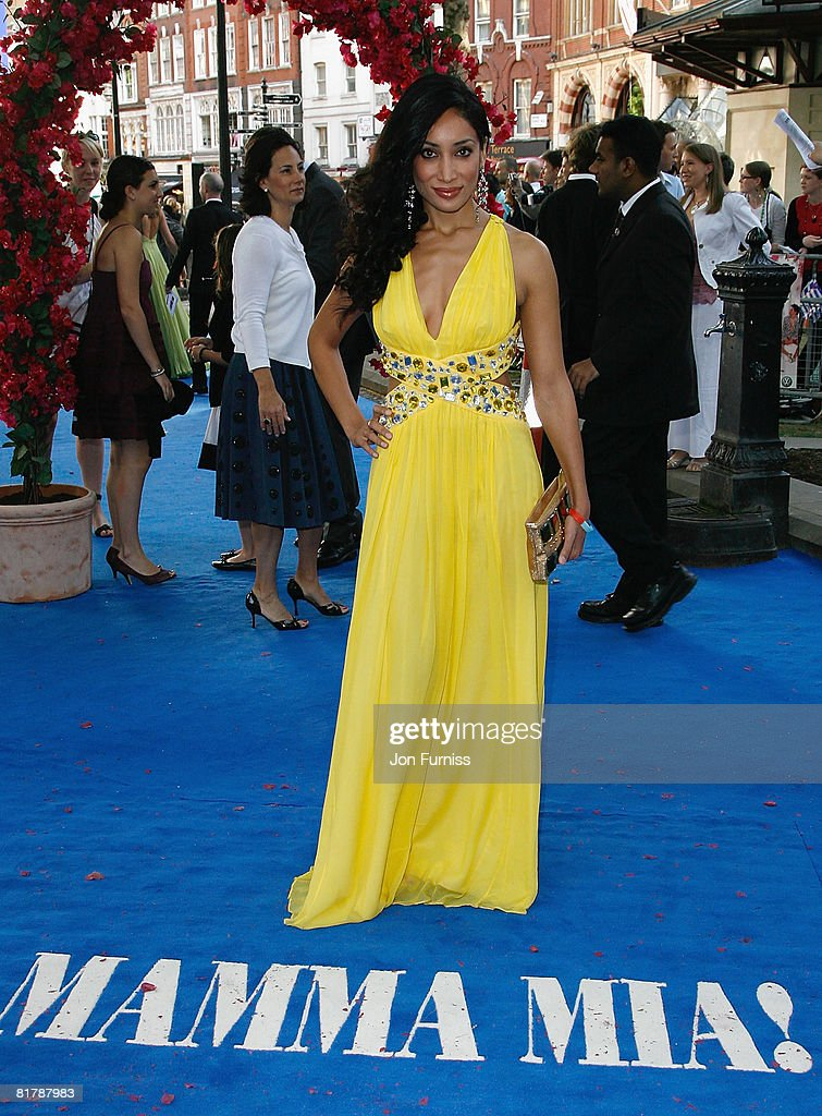 Sofia Hayat attends the Mamma Mia! The Movie world premiere held at the Odeon Leicester Square on June 30, 2008 in London, England.