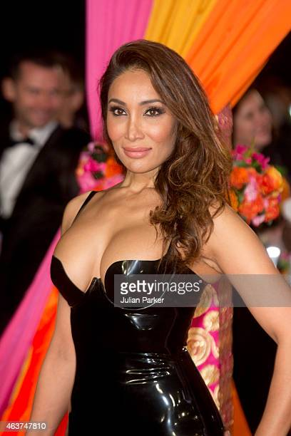 Sofia Hayat attends The Royal Film Performance and World Premiere of 'The Second Best Exotic Marigold Hotel' at Odeon Leicester Square on February 17...