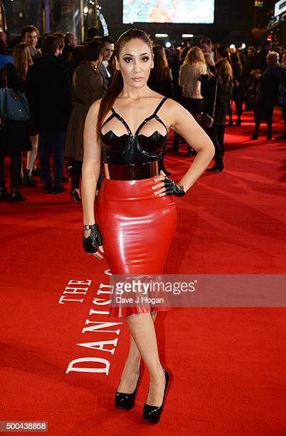 Sofia Hayat attends the UK Film Premiere of 'The Danish Girl' on December 8 2015 in London United Kingdom