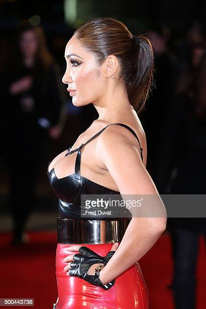 Sofia Hayat attends the UK Premiere of 'The Danish Girl' at Odeon Leicester Square on December 8 2015 in London England