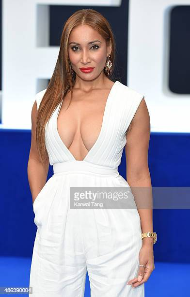 Sofia Hayat attends the world Premiere of 'Legend' at Odeon Leicester Square on September 3 2015 in London England