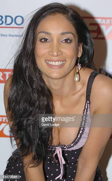 Sofia Hayat during Eastern Eye Asian Business Awards 2006 Outside Arrivals at Grovenor House in London Great Britain