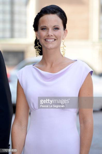 Sofia Hellqvist attends the wedding of Princess Madeleine of Sweden and Christopher O'Neill hosted by King Carl Gustaf XIV and Queen Silvia at The...