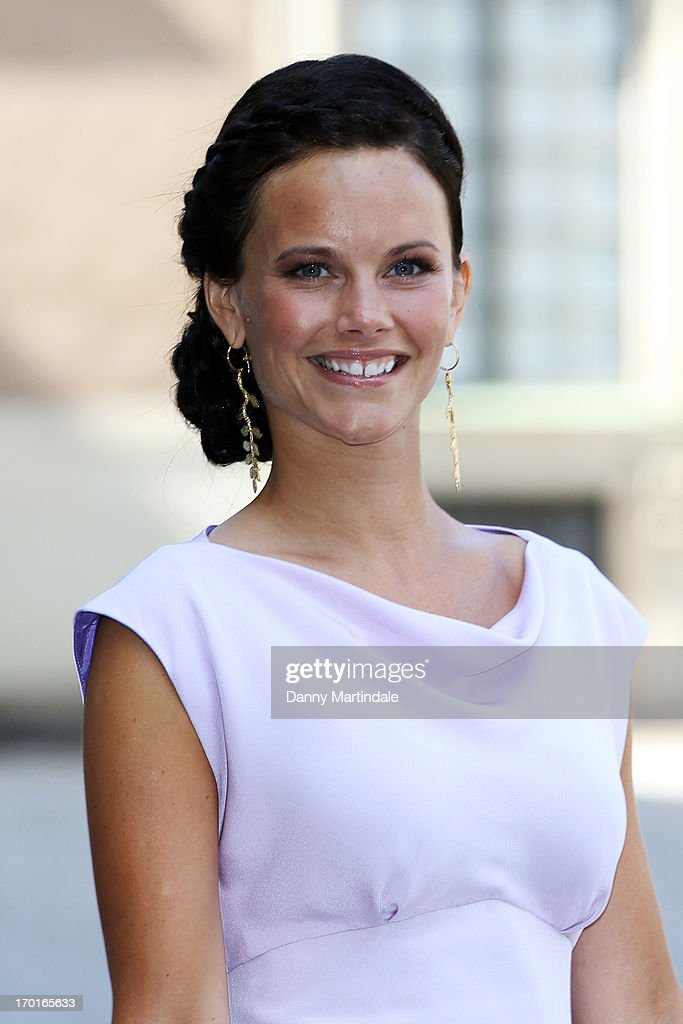 Sofia Hellqvist attends the wedding of Princess Madeleine of Sweden and Christopher O'Neill hosted by King Carl Gustaf XIV and Queen Silvia at The Royal Palace on June 8, 2013 in Stockholm, Sweden.