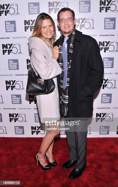 Sofia Karstens and actor Jason London attend the 'Dazed And Confused' 20th Anniversary Screening during the 51st New York Film Festival at Alice...