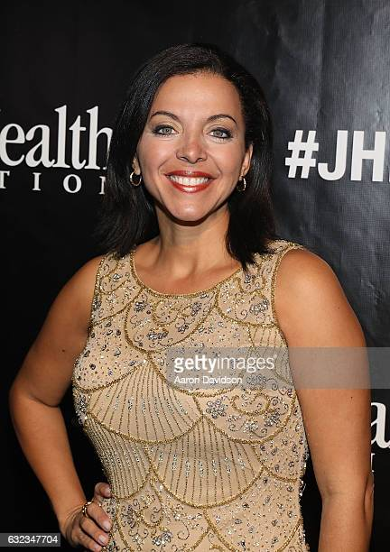 Sofia Lachapelle attends Jackson Health Foundation Golden Angels Gala at Soho Studios on January 21 2017 in Miami Florida