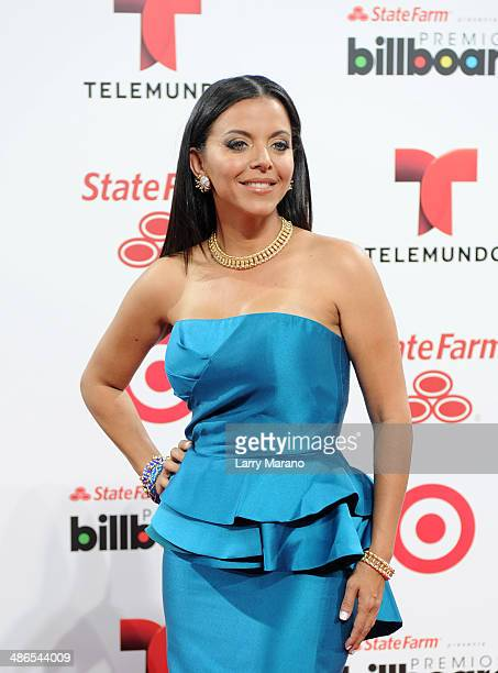 Sofia Lachapelle attends the 2014 Billboard Latin Music Awards at Bank United Center on April 24 2014 in Miami Florida