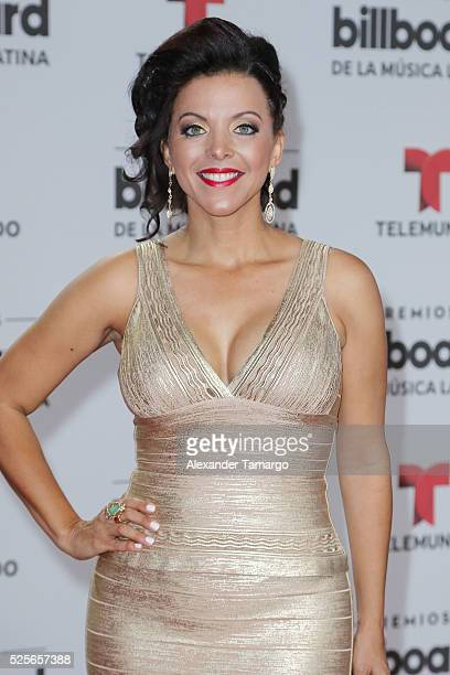 Sofia Lachapelle attends the Billboard Latin Music Awards at Bank United Center on April 28 2016 in Miami Florida