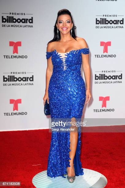 Sofia Lachapelle attends the Billboard Latin Music Awards at Watsco Center on April 27 2017 in Coral Gables Florida