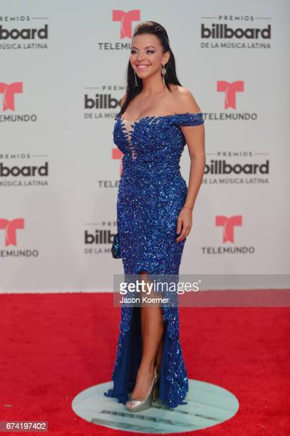Sofia Lachapelle attends the Billboard Latin Music Awards at Watsco Center on April 27 2017 in Miami Florida