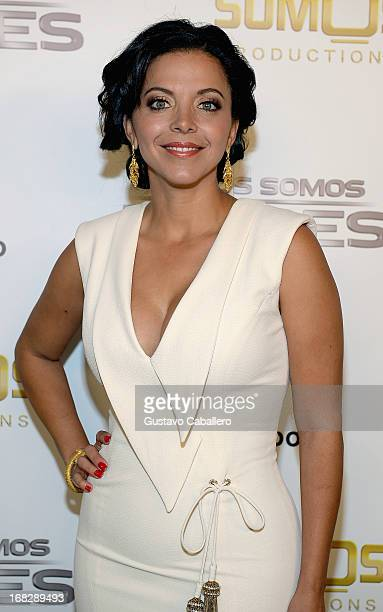 Sofia Lachapelle attends the Telemundo's Todos Somos Heroes Gala on May 7 2013 in Miami United States