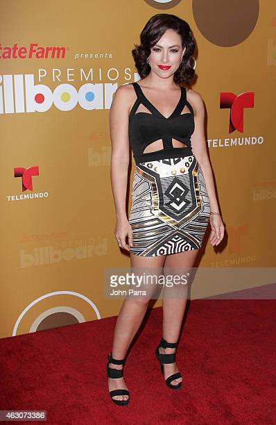 Sofia Lama attends Billboard Latin 2015 Finalists Nominations Press Conference on February 9 2015 in Doral Florida