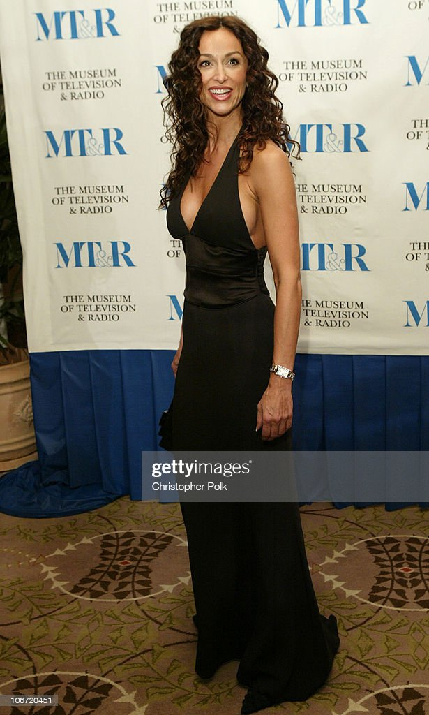 <a gi-track='captionPersonalityLinkClicked' href=/galleries/search?phrase=Sofia+Milos&family=editorial&specificpeople=204487 ng-click='$event.stopPropagation()'>Sofia Milos</a> during The Museum Of Television & Radio To Honor CBS News's Dan Rather And Friends Producing Team at The Beverly Hills Hotel in Beverly Hills, CA, United States.
