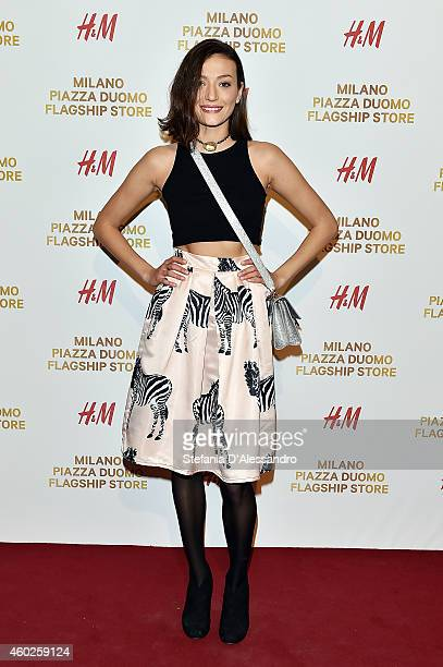 Sofia Odescalchi attends HM New Store Opening on December 10 2014 in Milan Italy